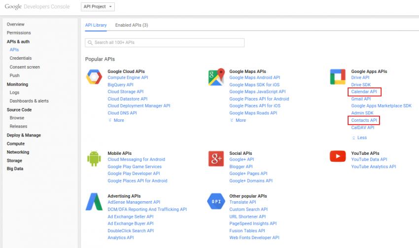 SalesPlatform vtiger crm 620 Интеграция с Google